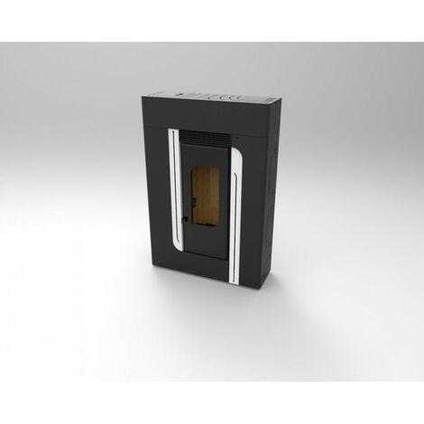 Estufa Pellets Pasillo Canalizable 12,19 kw Modelo BP-401 K - FM Calefaccion