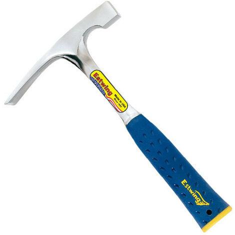 Estwing E324BLC 24oz Masons Brick Hammer Blue Shock Reduction Grip Length 280mm