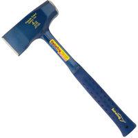 Estwing E3FF4 Fireside Friend Wood Splitting Axe Blade Size 60mm Blue Shock Reduction Grip Length 356mm
