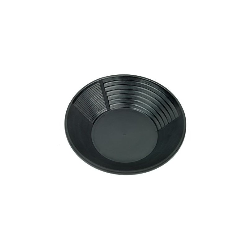 Image of Bp-10 Black Plastic Gold Pan 10-inch - Estwing