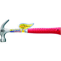 Estwing Red Handled Curved Claw Hammer 20oz Matt Black Finish)