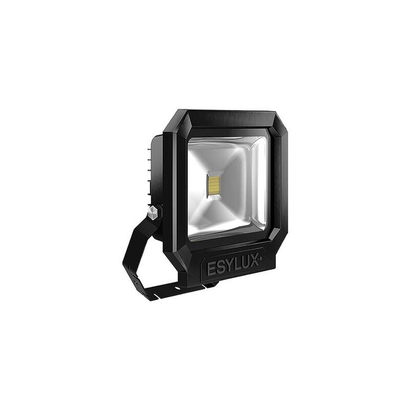 LED-Strahler 30W OFL/AFL SUN 3000K A+ sw 1LED 2400lm IP65 mt Konv breitstrahlend - ESYLUX