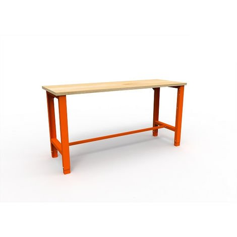 Établi d'atelier simple charge 600 Kg AKAZE 1765x620x850 mm - CET-SWT 17/1