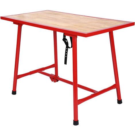 tabli pliable table d 39 atelier pliante surface de montage. Black Bedroom Furniture Sets. Home Design Ideas