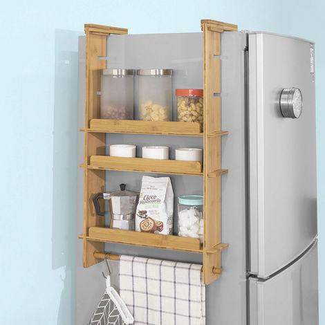 étagère à Suspendre Pour Réfrigérateur Avec Ventouses