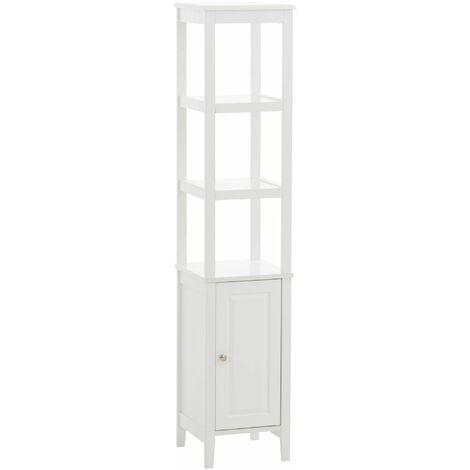 """main image of """"Etagère armoire Kemi en bois blanc"""""""