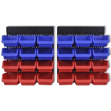 Allit ProfiPlus Compact 1 Rouge Lot sichtbox sichtbox Stock Atelier Industrie