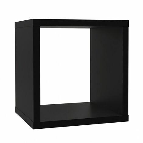 Etagère cube 1 casier noir mat - CLASSICO - Noir