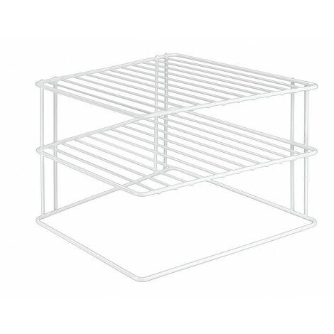 etag re d 39 angle de placard metaltex rangement cuisine. Black Bedroom Furniture Sets. Home Design Ideas