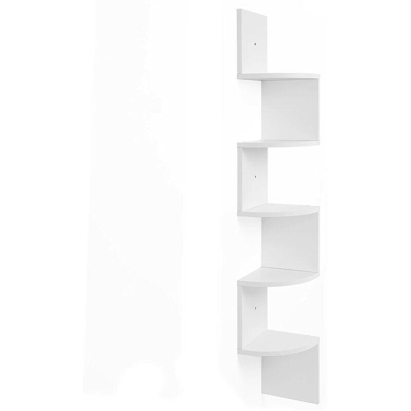 étagère Dangle étagère Murale étagère En Forme Zigzag Bibliothèque