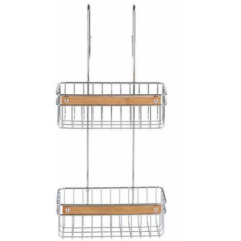 Étagère de douche Zerbo à 2 niveaux