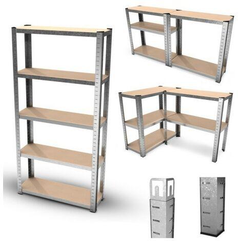 Support dangle droit Charge maximale : 200 kg 350 x 200 x 4 mm Lot de 4 /équerres en L robustes en acier inoxydable pour /étag/ère