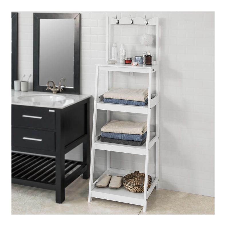 Tag re de rangement style chelle meuble colonne salle de - Rangement pour salle de bain ...
