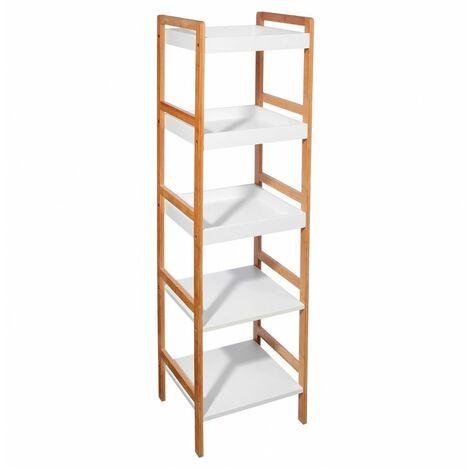 etag re en bois 5 niveaux salle de bain livraison. Black Bedroom Furniture Sets. Home Design Ideas