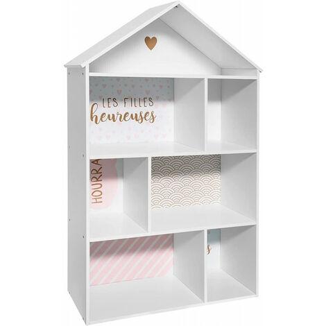 Étagère Maison 7 cases - Atmosphera