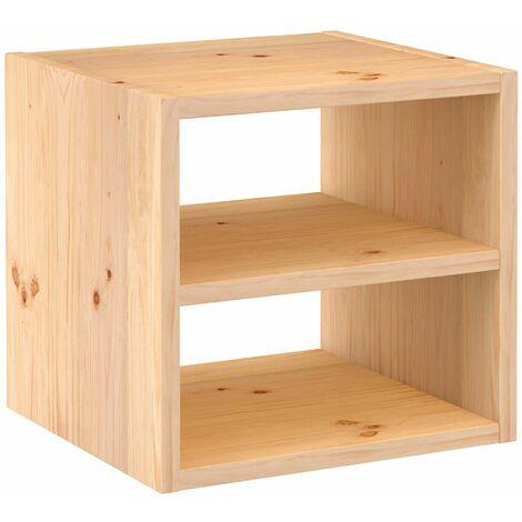 Étagère modulaire 1 cube en bois - DINAMIC