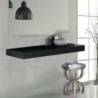 Etagère plan vasque 120 cm anthracite, Futura