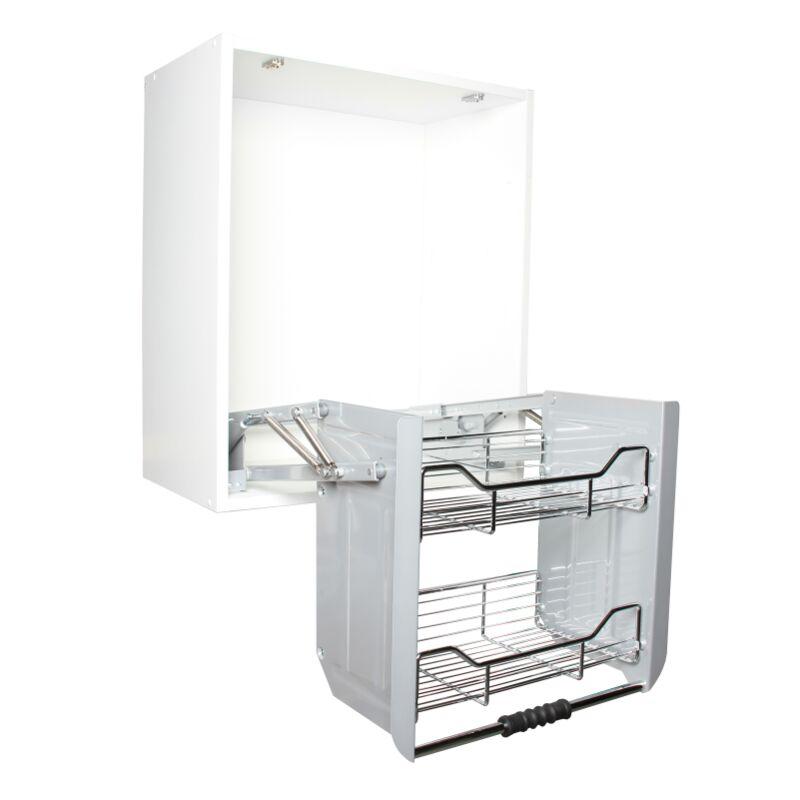 Etagères de cuisine escamotables - Modèle: Pour meuble de 60 cm
