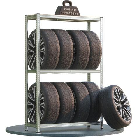 Étagères rangement stockage - Rayonnage - charges lourdes - garage outils pneus 795kg max