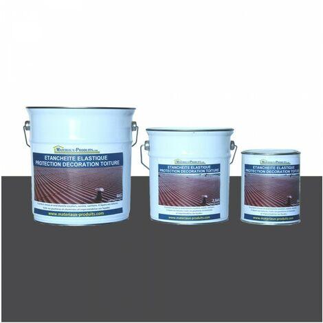 Etanchéité Elastique Protection Décoration Toiture Gris Basalte