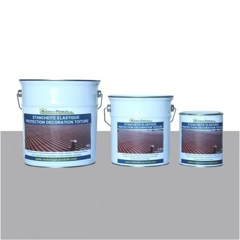 Etanchéité Elastique Protection Décoration Toiture Gris Ciment