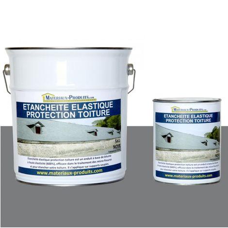 Etanchéité Elastique Protection Toiture Gris
