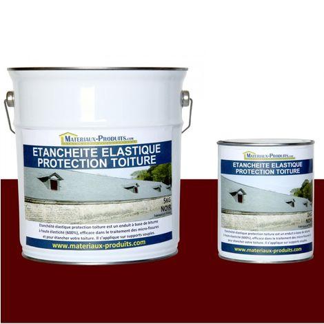 Etanchéité Elastique Protection Toiture Rouge