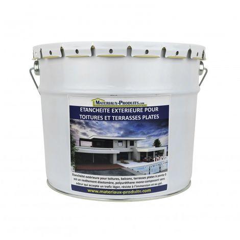 Etanchéité Extérieure pour Toitures, Balcons et Terrasses Plates BLANC