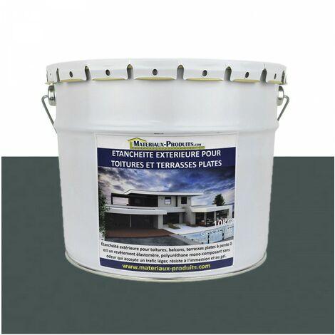 Etanchéité Extérieure pour Toitures, Balcons et Terrasses Plates GRIS ANTHRACITE RAL 7016