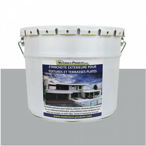 Etanchéité Extérieure pour Toitures, Balcons et Terrasses Plates GRIS CIMENT RAL 000 70 00