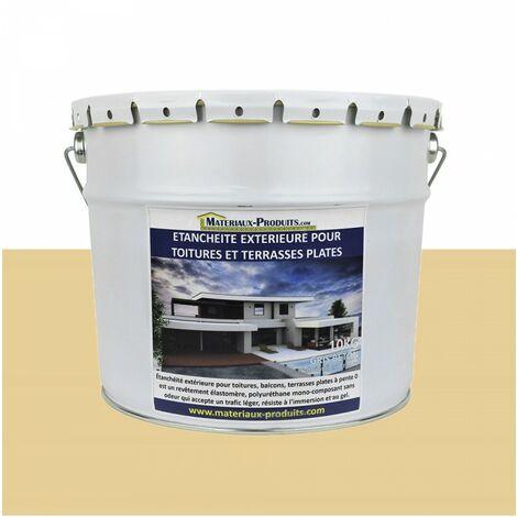 Etanchéité Extérieure pour Toitures, Balcons et Terrasses Plates SABLE RAL 1014