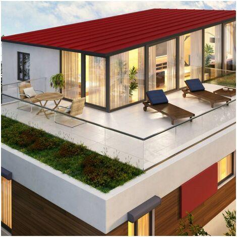 Etanchéité extérieure renforcée pour toitures, balcons et terrasses plates GRIS PERLE