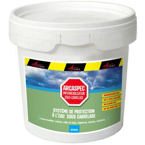 Etancheite sous carrelage douche salle de bain cuisine imperméabilisation placo SPEC ARCASPEC