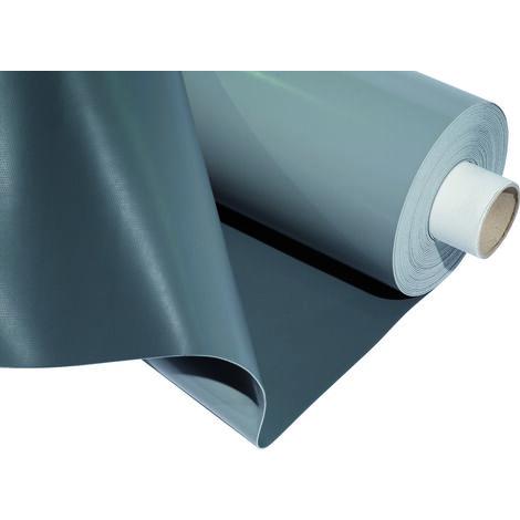 Étanchéité synthétique PVC - FLAGON S 15 RAL7047 Gris Clair 20m x 1,05m