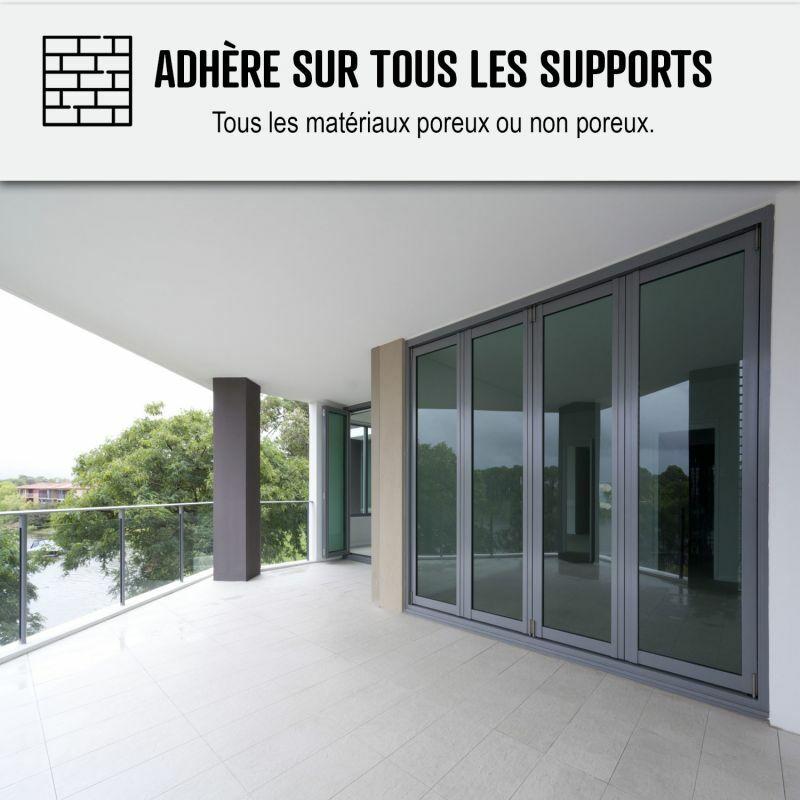 Etancheite Toiture Terrasse Plate Resine Pu Haute Performance Arcathan Arcane Industries Gris 4 Kg 120 25094