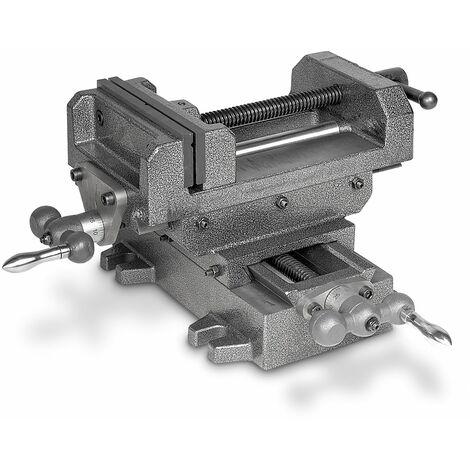 Étau de perceuse sur table croisée MW-Tech BAVALR160