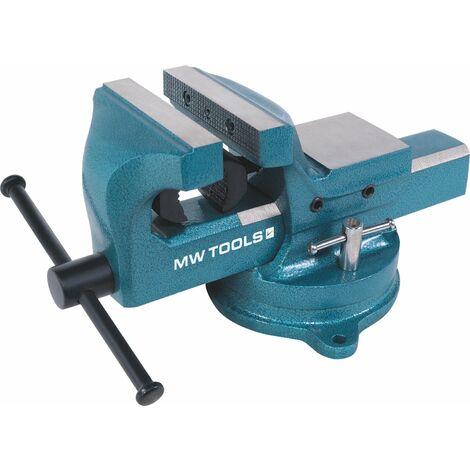 Étau d'établi à mors parallèles - acier MW-Tools BAP125