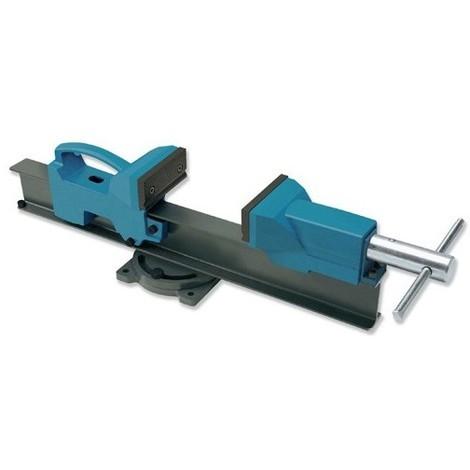 Etau d'établi base rotative grandes capacités 200 mm de serrage et mors 110 mm - UR-1558201 - Urko - -