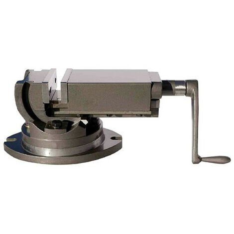 Etau machine orientable 2 axes + base - l. 100 mm