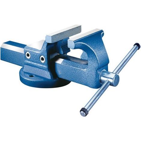 Etau parallèle avec mors serre-tubes soudés, Larg. : des mors : 125 mm, Capacité de serrage 160 mm, Profondeur de serrage 75 mm