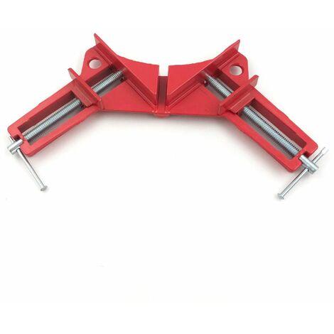Etau presse d'angle 90° largeur 75 mm serrage à vis pour travaux de menuiserie - 230015 - Beast