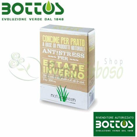 Été Hiver - Ferilizzante pour la pelouse 2 Kg