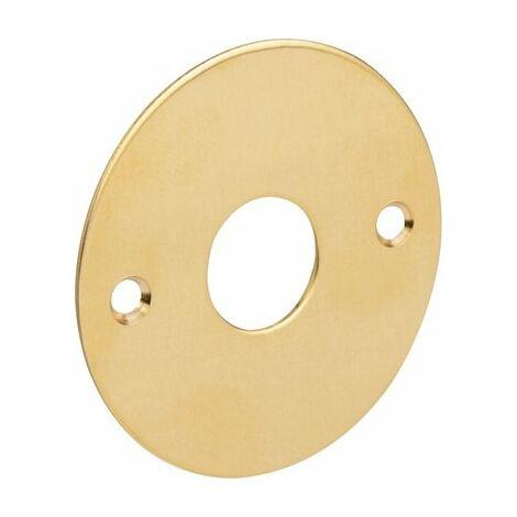 """main image of """"Rosace ronde plate poli (l'unité) Duval Fonction Bec de cane"""""""
