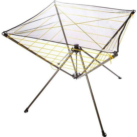 Étendoir à linge parapluie intérieur et camping