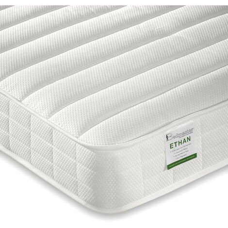 Ethan Quilted Low Profile Mattress Double