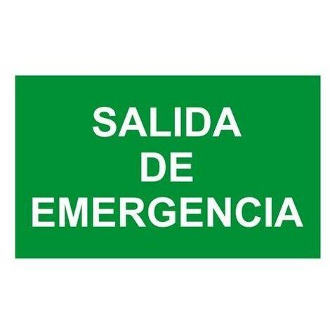 "Etiqueta adhesiva de ""Salida de emergencia"" NORMALUX LN-SE"