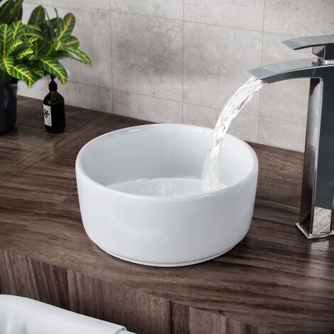 Etive Cloakroom Round Counter Top Basin Bowl 33
