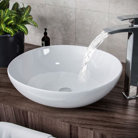 Etive Large Round Stand Alone Basin Sink Bowl