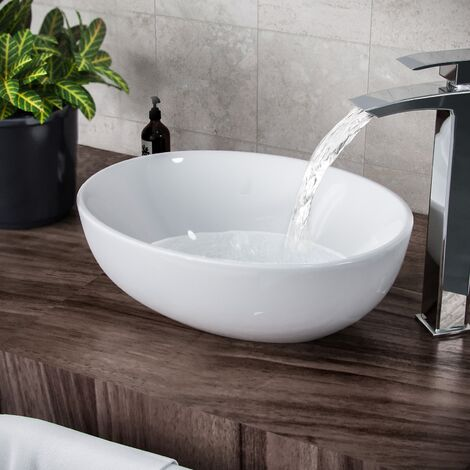 Etive Oval Basin Counter Top Sink Bowl