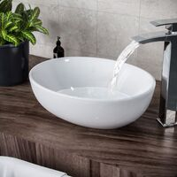Etive Oval Basin Sink Bowl